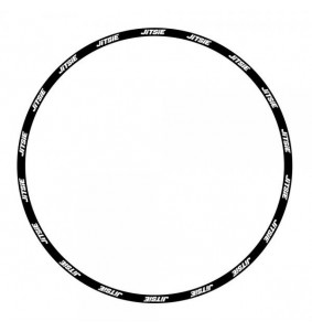 Jitsie rim stickers 19""