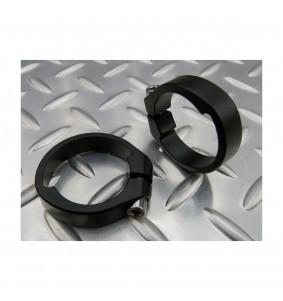 Anneaux de serrage pour potence Twin Ring (par paire, noirs) HASHTAGG