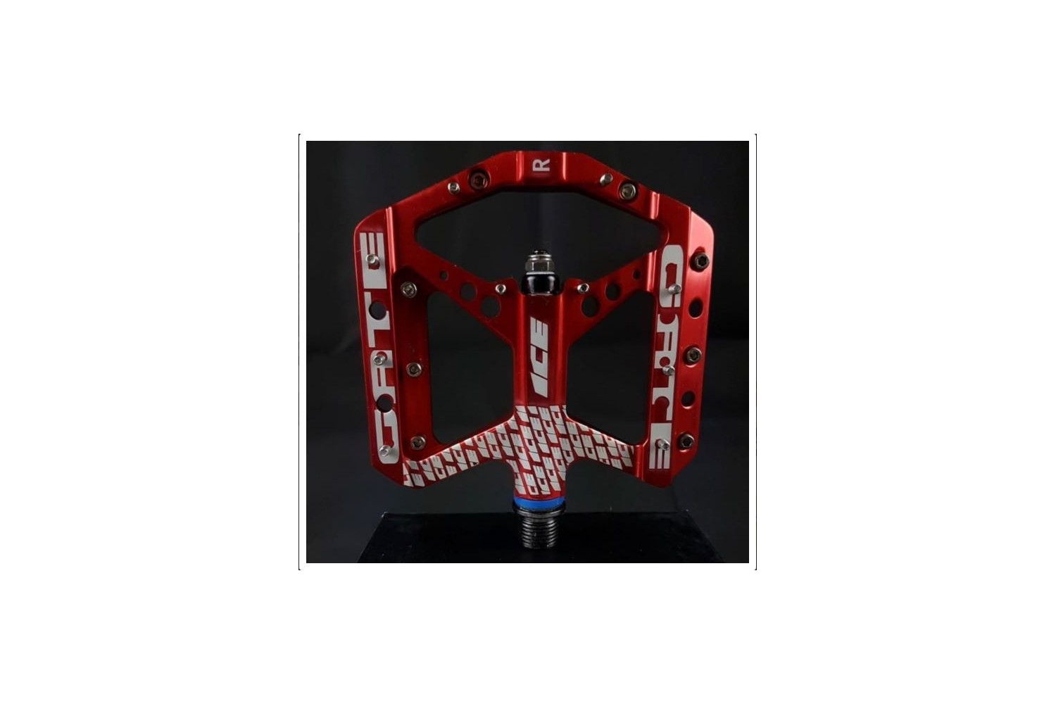 PEDALES ICE GATE CNC ROUGE